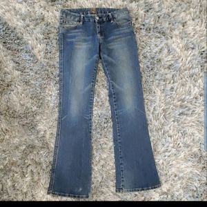 7 For All Mankind Blue A Pocket Jeans Size 28